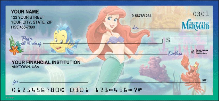 Disney Classics Series II Disney Personal Checks - 1 Box - Duplicates