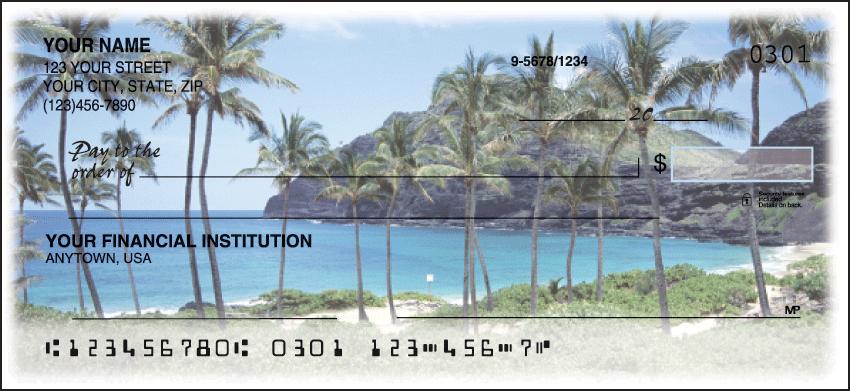 Island Escapes Scenic Personal Checks - 1 Box - Duplicates