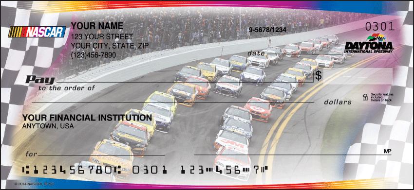 NASCAR Collections Checks - click to preview