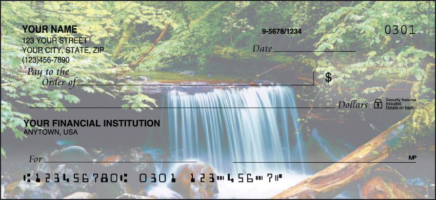 Peaceful Panoramas Checks Personal Checks - 1 Box - Duplicates
