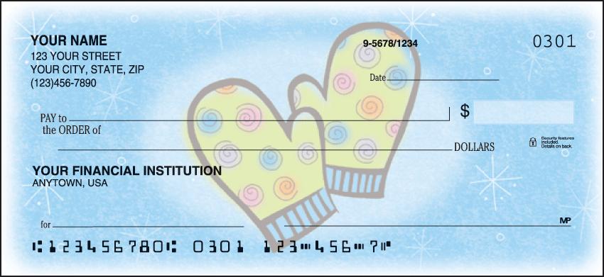 Snow Days Checks Personal Checks - 1 Box - Duplicates