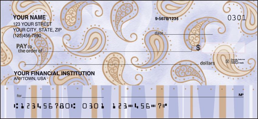Swirls and Twirls Checks - click to preview