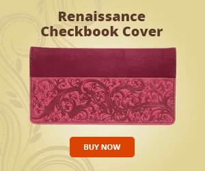 Renaissance Checkbook Cover