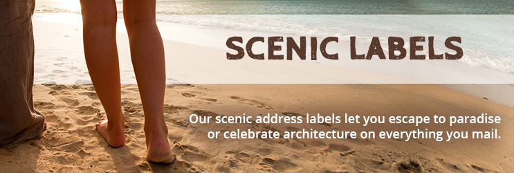 Scenic Address Labels