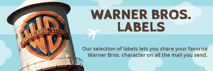 Warner Bros. Address Labels