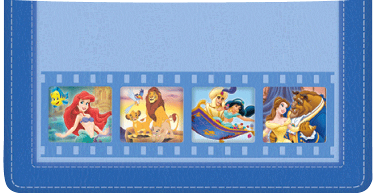 Disney Classics 2 Checkbook Cover - click to view larger image