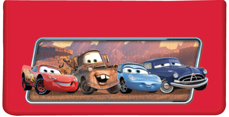 Disney/Pixar Cars Checkbook Cover - click to view larger image