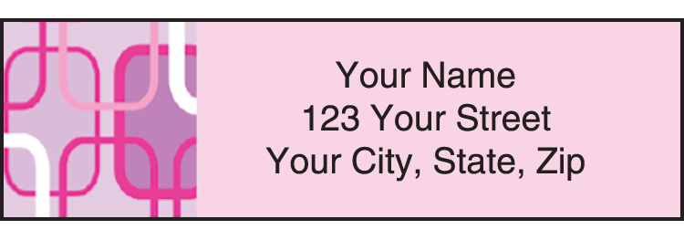 Metro Address Labels - click to view larger image
