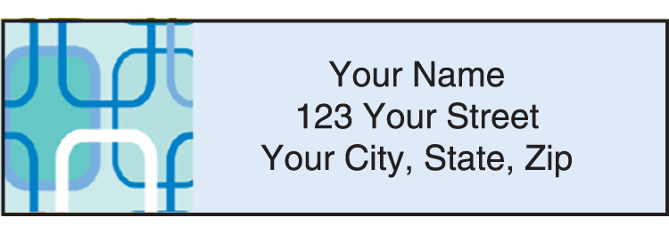 Metro Address Labels - click to preview