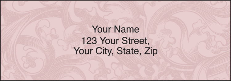Renaissance Address Labels - click to view larger image