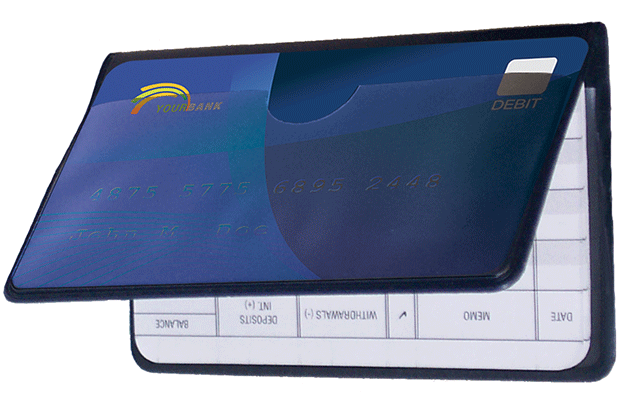 Vinyl Debit Organizer - click to view larger image