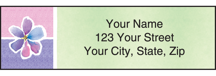 Kathy Davis Watercolors Davis Address Labels