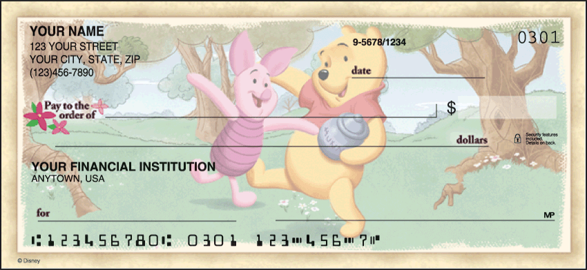 Winnie the Pooh Checks - click to preview