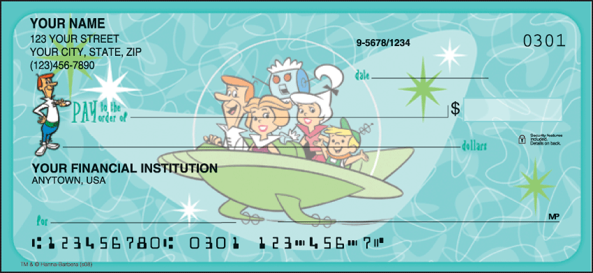 The Jetsons Checks - click to view larger image