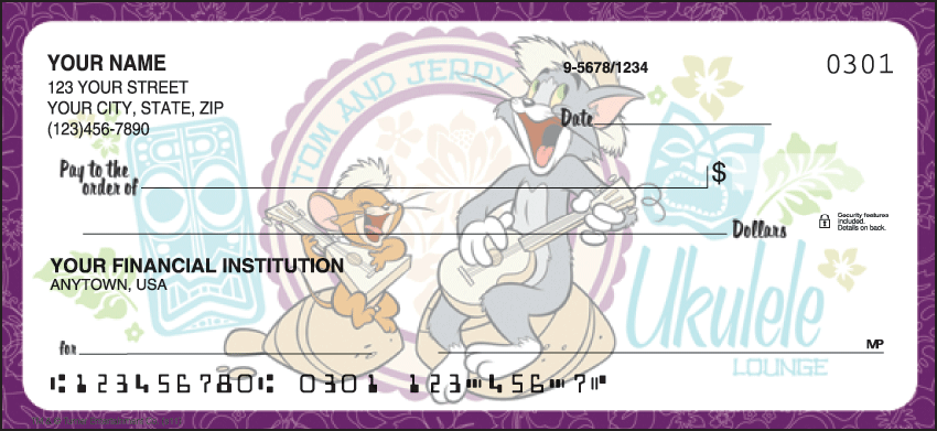 Tom & Jerry New Checks - click to preview