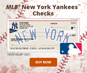 MLB - New York Yankees Checks