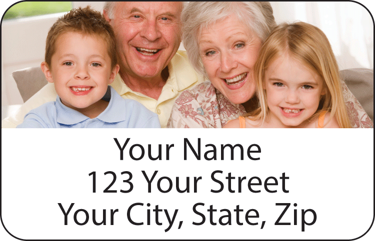 Photo Address Labels - Set of 150