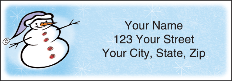Snow Days Labels - Set of 210