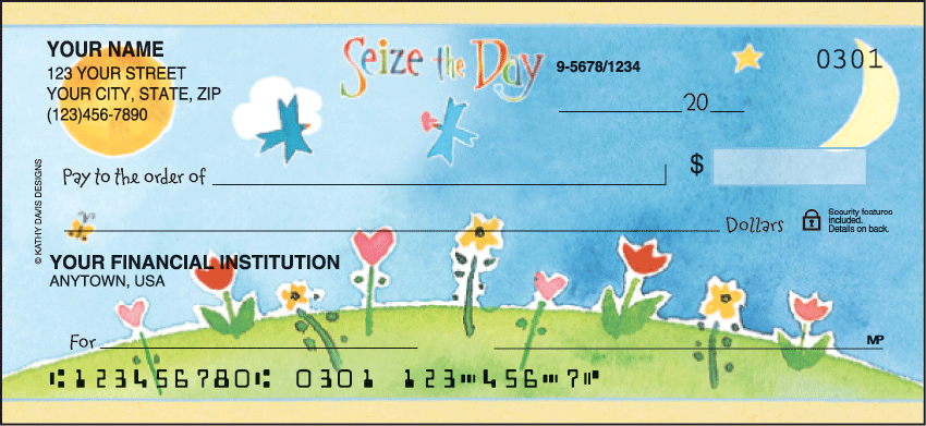 Inspirations by Kathy Davis Inspiration Personal Checks - 1 Box - Duplicates