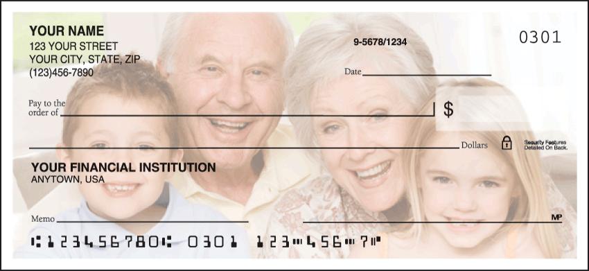 Side Tear Photo Checks Personal Checks - 1 Box - Duplicates