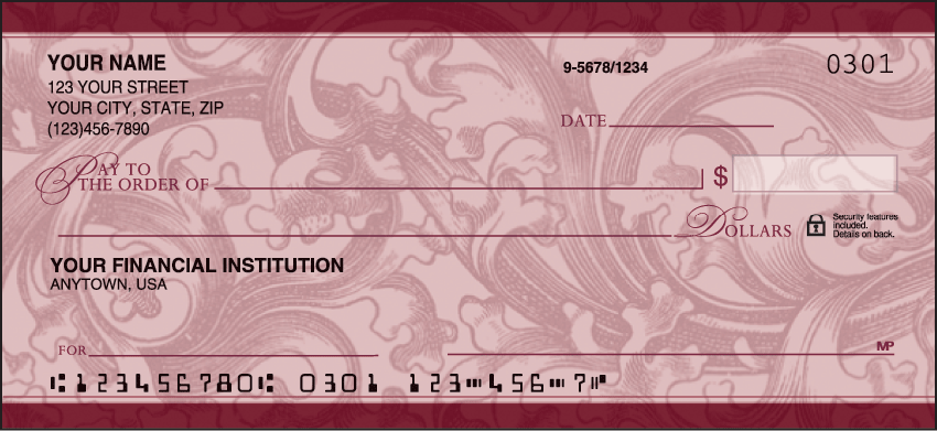 Renaissance Classic Personal Checks - 1 Box - Duplicates