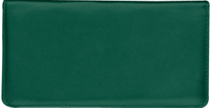 Hunter Green Side Tear Checkbook Cover – click to view product detail page
