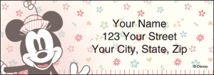 Minnie Mouse Address Labels – click to view product detail page
