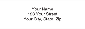White Address Labels – click to view product detail page